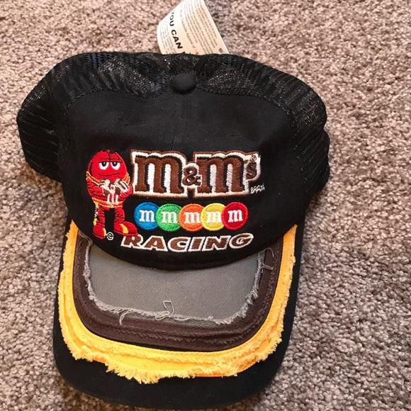 M M s Kyle Busch racing hat d191aa5d9926